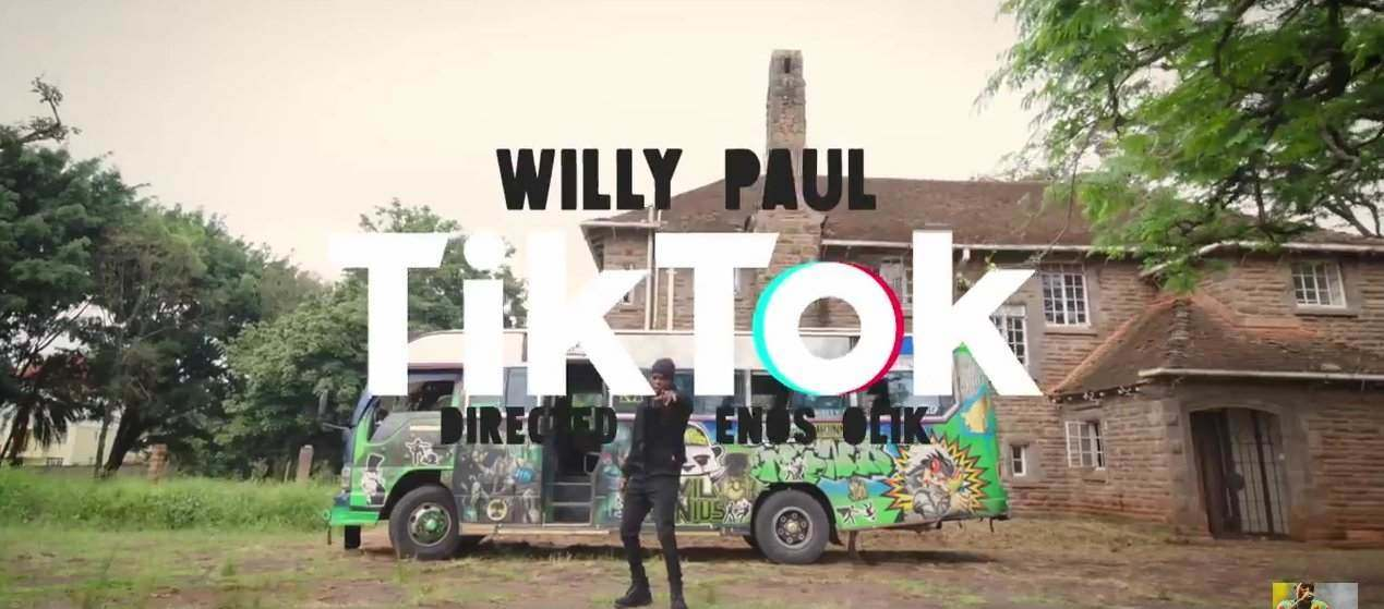 Willy Paul - Tik Tok Video