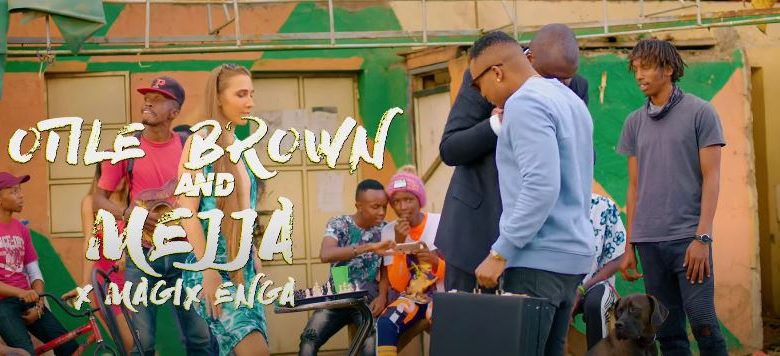 Watoto Na Pombe - Otile Brown & Mejja x Magix Enga Video